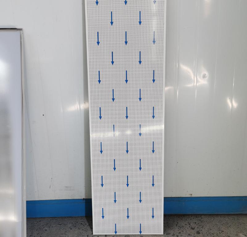 400x1200微孔直边铝天花